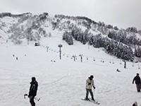 布場ゲレンデ 積雪状況
