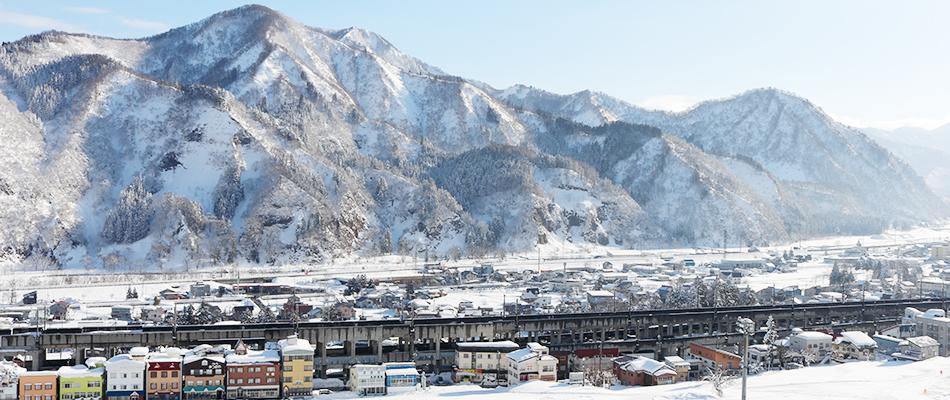 越後湯沢のスキー場
